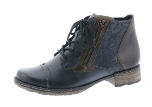 Remonte Blue /Brown short boots