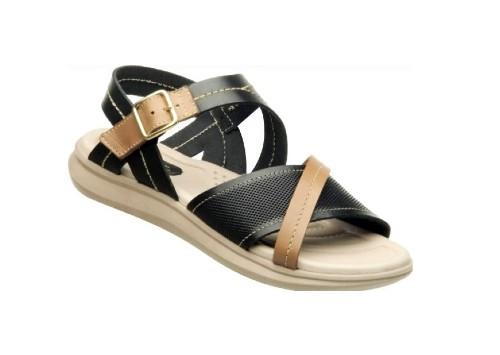 Pegada leather sandals